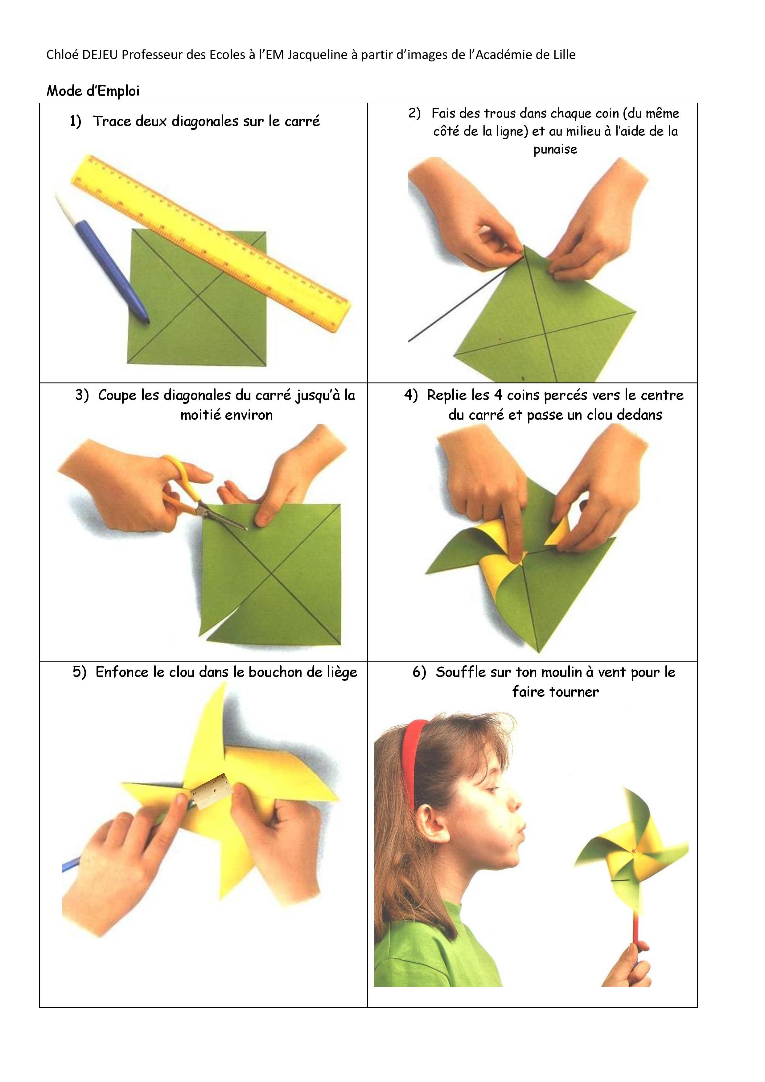 Comment fabriquer un moulin vent en bois - Moulin a vent en bois a fabriquer ...